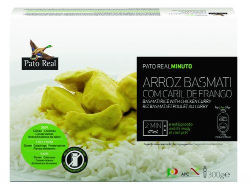 Pato Real Basmati rýže s kuřecím kari