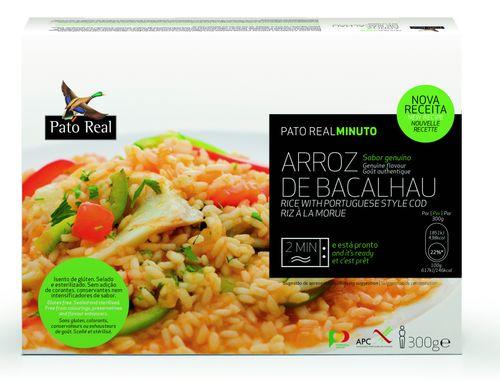 Pato Real Portugalská rýže s treskou 300 g