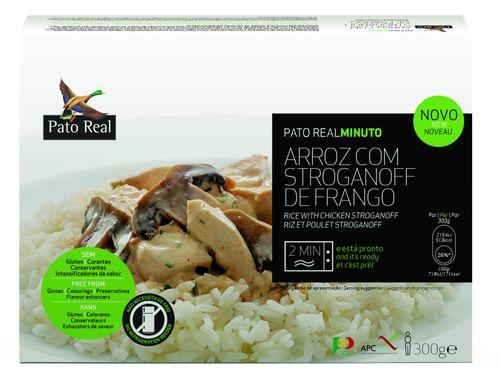 Pato Real Rýže kuřecí stroganof