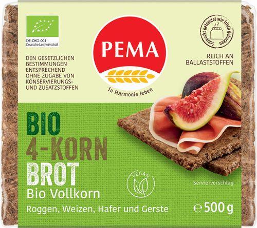 PEMA Vícezrnný chléb BIO