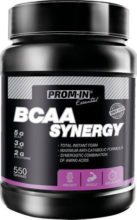 Prom-IN BCAA Synergy broskev 550 g