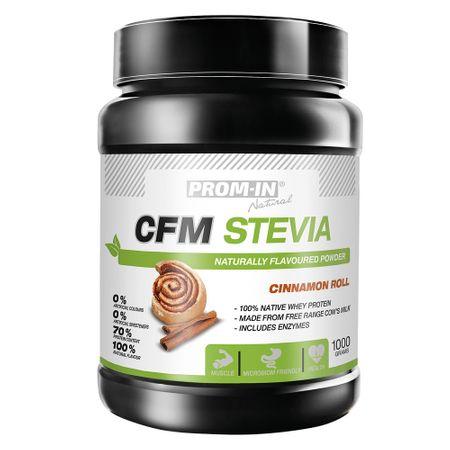 Prom-IN CFM Stevia skořicová rolka 1000 g