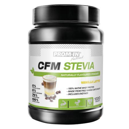 Prom-IN CFM Stevia vanilkové latte 1000 g