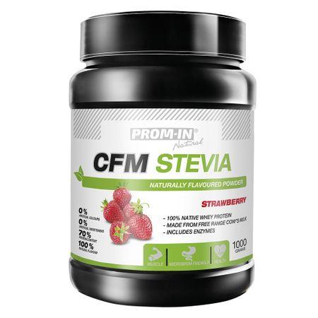 Prom-IN CFM Stevia jahoda 1000 g