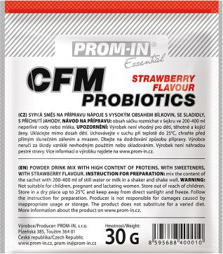 Prom-IN Essential CFM Probiotics jahoda 30 g