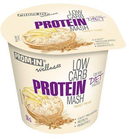 Prom-IN Low Carb Protein Mash hruška 50 g (kelímek)
