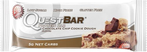 Quest Nutrition Protein Bar chocolate chip cookie dough 60 g