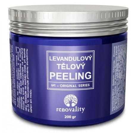 Renovality Levandulový tělový peeling
