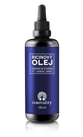 Renovality Ricinový olej lisovaný za studena