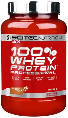 SciTec Nutrition 100% Whey Protein Professional banán 920 g