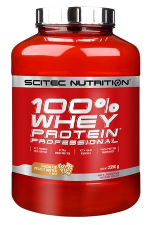 SciTec Nutrition 100% Whey Protein Professional banán 2350 g