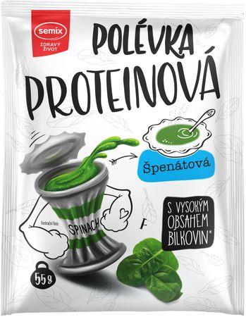Semix Proteinová polévka špenátová 55 g
