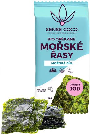 Sense Coco Opékané mořské řasy BIO