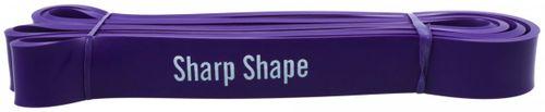 Sharp Shape odporová guma Resistance Band fialová 15 - 20 kg