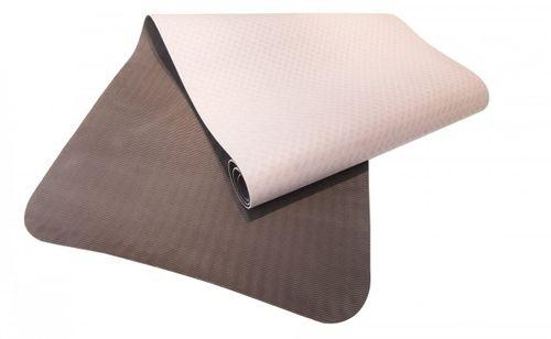 Sharp Shape podložka na cvičení Dual Yoga Mat 183 x 61 x 0,4 cm hnědá/béžová