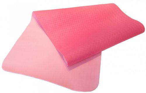 Sharp Shape podložka na cvičení Dual Yoga Mat 183 x 61 x 0,4 cm růžová