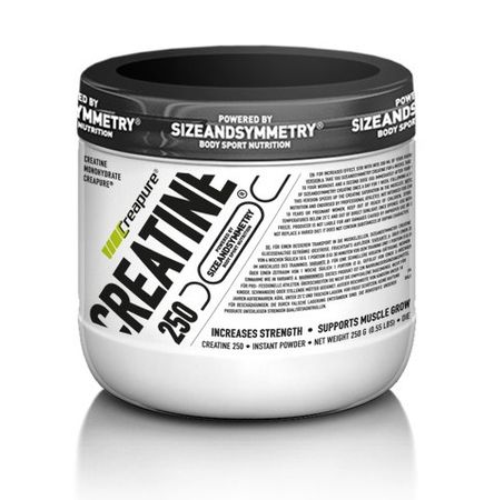 SizeAndSymmetry Nutrition Creatine Creapure