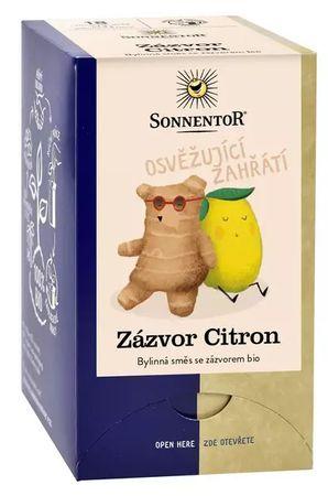 Sonnentor Zázvor Citron BIO