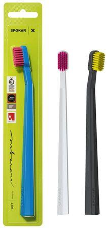 SPOKAR Zubní kartáček X soft 1 ks mix barev