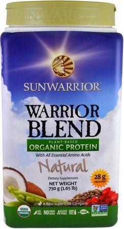 Sunwarrior Warrior Protein Blend BIO natural 750 g