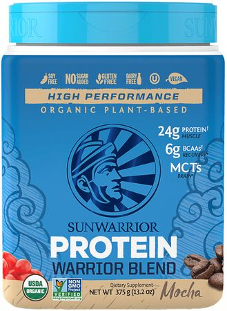 Sunwarrior Warrior Protein Blend BIO mocha 375 g