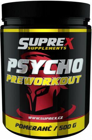 Suprex Psycho Preworkout pomeranč 500 g