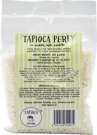 Tapioca Puding tapiokové perly