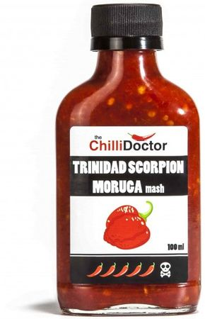 The ChilliDoctor Trinidad Scorpion Moruga Mash