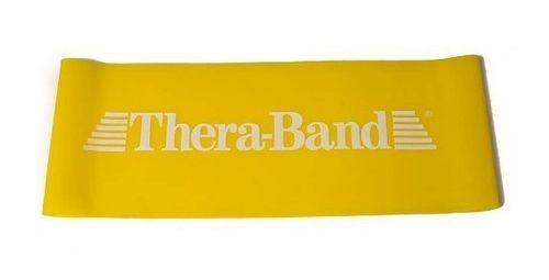 Thera-Band posilovací smyčka Loop žlutá slabá