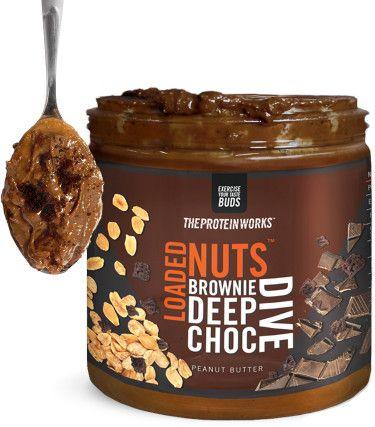 TPW Loaded Nuts Peanut Butter čokoládové brownie 500 g
