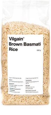 Vilgain Hnědá Basmati Rýže BIO