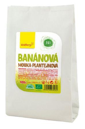 Wolfberry Banánová plantejnová mouka BIO