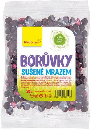 Wolfberry Borůvky sušené mrazem