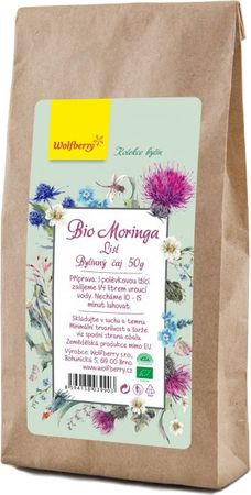 Wolfberry Bylinný čaj moringa BIO
