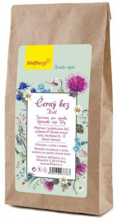 Wolfberry Černý bez bylinný čaj