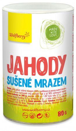 Wolfberry Jahody sušené mrazem 80 g