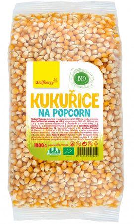 Wolfberry Kukuřice na popcorn BIO
