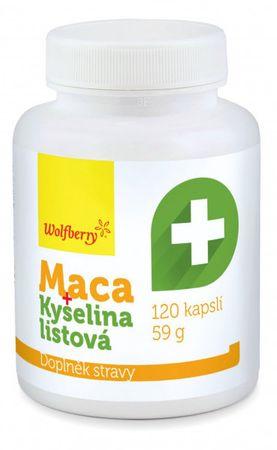 Wolfberry Maca extrakt + Kyselina listová