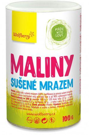 Wolfberry Maliny sušené mrazem