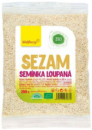 Wolfberry Sezamové semínko loupané BIO