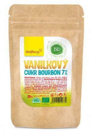 Wolfberry Vanilkový cukr Bourbon 7% BIO