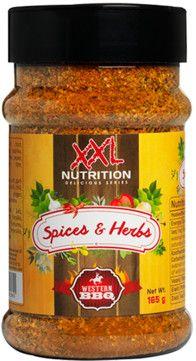 XXL Nutrition Spices & Herbs western BBQ 165 g