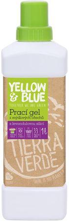 Yellow & Blue Prací gel z mýdlových ořechů 1000 ml levandulová silice