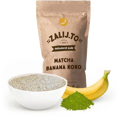 Zalij.To Snídaňová kaše s proteinem matcha/banán/kokos 500 g