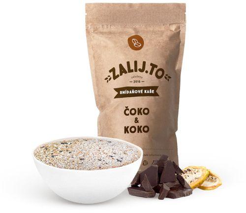 Zalij.To Snídaňová kaše s proteinem čokoláda/kokos 500 g