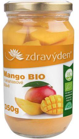 Zdravý den Mango v ananasové šťávě BIO