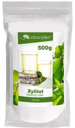 Zdravý den Xylitol březový cukr 500 g