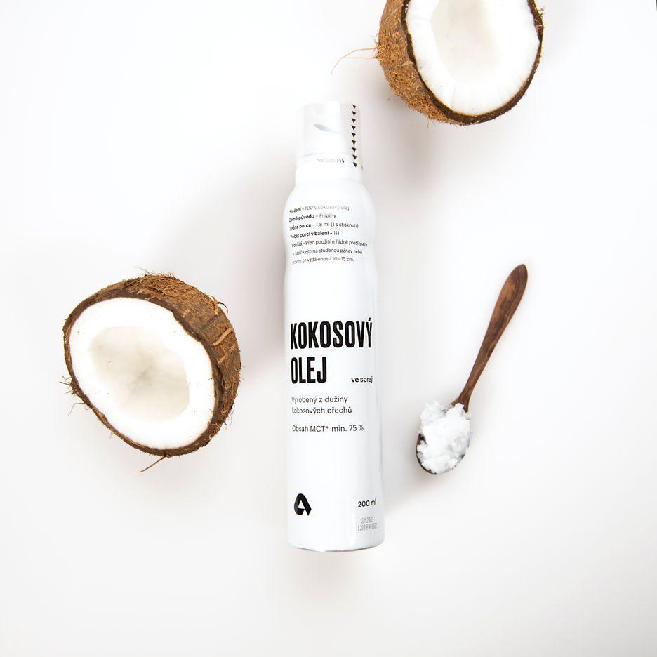 Aktin Kokosový olej ve spreji
