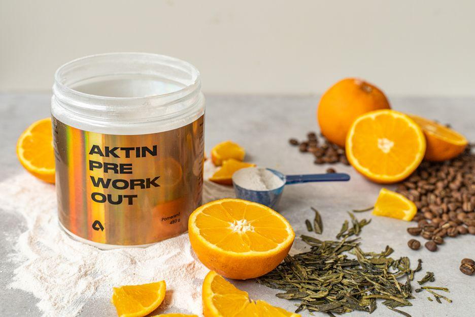 Aktin Preworkout pomeranč 450 g