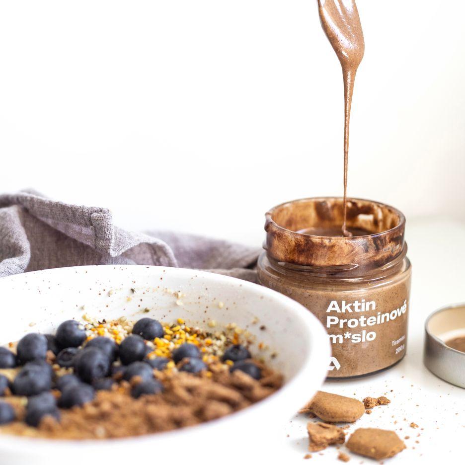 Aktin Proteinové ořechové m*slo
